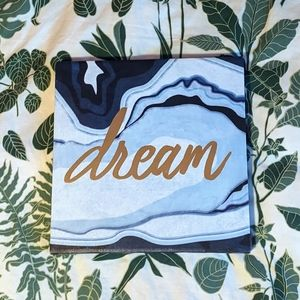 HOST PICK ✨ Dream blue printed canvas wall art